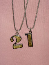MIMCO Jewellery- Number Charms Necklace 21 BNWT rrp$200
