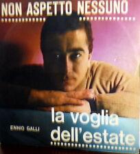"""MEGARARE ENNIO GALLI &  I TEEN AGERS  7"""" beat ITALY NON ASPETTO NESSUNO (CIACCI)"""