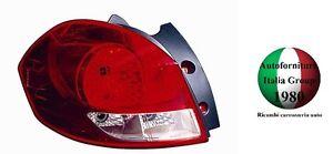 FANALE FANALINO STOP POSTERIORE SX RENAULT CLIO 05>09 SPORTOUR SW 2005>2009