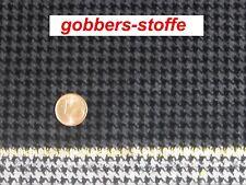 Samt-Stoff -100% BW Samt- Hahnentritt Larp Mittelalter Goldkannte Edel Baumwolle