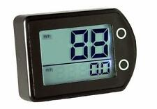 GPS Impermeable Velocímetro Speedo calibre se ajusta moto, coche o barco 10Hz remitente