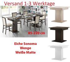 Tisch Küchentisch Esszimmertisch Esstisch ausziehbar 85-220cm Wenge