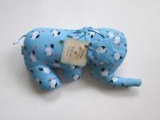 Retro 1920's stuffed elephant fabric plush nursery toy doll whimsical sheep