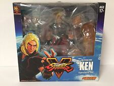 IN STOCK!!  Street Fighter RED Ken 1/12 Scale Storm Collectibles Action Figure