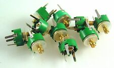 Trimming Capacitor 2-22pf (Green) PCB Mount 10 Pieces OM1240