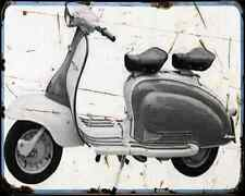 Bajaj Chetak 150 00 03 A4 Photo Print Motorbike Vintage Aged