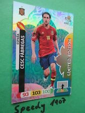 Euro 2012 Fabregas limitierte Auflage limited edition Panini Adrenalyn 12 EM
