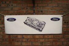 ford Consul Classic  large pvc banner  garage  work shop   classic  show