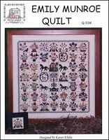 Emily Monroe Quilt by Rosewood Manor Q-1134 designs by Karen Kluba/Pamphlet