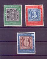 Bund 1949 - Tag der Briefmarke - MiNr. 113/115 postfrisch- Michel 100,00 € (673)