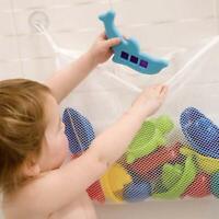 Bebe Almacenamiento Bolsa de juguetes Sucker colgando Bañera de hidromasaje