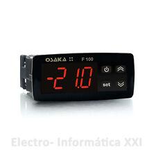 Termostato Digitale OSAKA F100 1 Relè 16A 1 Sonda NTC Alimentazione 100-240Vac