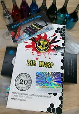 BIG WASP tattoo Needle Cartridges LINER , SHADER , CURVED MAG  FAST FROM  ARIZ.