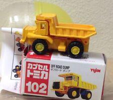 Capsule Tomica Construction 102 Off Road Dump truck 2006 series 12 Yujin mini