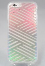 iPhone 6s Plus / iPhone 6 Plus Sonix Mirror Foil Case- Rainbow Criss Cross