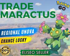 Maractus Pokemon GO - Trade Maractus - Regional Unova - 20k Stardust - 100% Safe