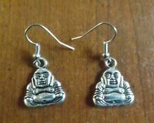 Boucles Oreilles Oreille Bouddha Bouda Boudha Argent 925 Peterandclo  K73B