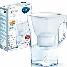 BRITA Navelia Cool MAXTRA+ Plus 2.3L Water Filter Fridge Jug + Cartridge - White