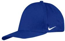 dd2652519dd NIKE 91 LEGACY SWOOSH FLEX FIT PRE-CURVED HAT BLUE 388831-494 (SIZE