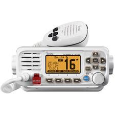 ICOM M330 VHF Marine Boat Radio With GPS Fixed Mount- White