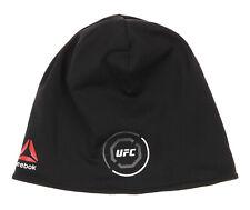 Reebok Unisex UFC World Champion Beanie Hat, OS, Black