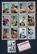 DETROIT TIGERS: 1953 Bowman Color AND Black & White REPRINT team sets B