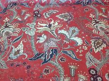 Wesley Barrell Tree Of Life Designer Floral 100% Wool Fabric 7m Piece