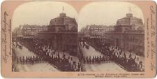 Paris Inauguration Expo 1900 Photo Stereo Stereoview Papier Citrate Vintage