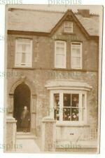 More details for old postcard davies milliner crymych pemb wales a478 nr fire station real photo