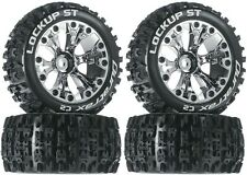Duratrax Mounted Lockup ST Tires Wheels 4 4WD Stampde Savage XS Flux Front Rear
