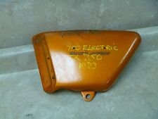 Yamaha 750 TX TX750  Used Left Side Cover Panel 1974 Vintage #SC24