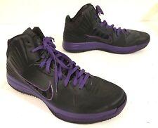 Nike Mens Size 15 Lunar Hyperfuse Shoes RARE Black Purple EUC 469756-005
