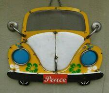 Lg Metal Volkswagen Sign Gas Oil Garage Man Cave Home Decor Car Front Bug Beetle