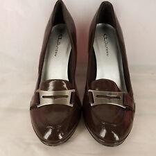 CL Laundry Womens Shoe Pump Slip on Brown Size 10 M