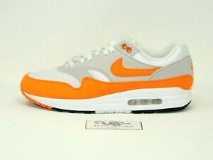 Nike Air Max 1 Anniversary Orange Grey Magma Anniversary - Size 6.5 Men's - NEW