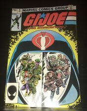 Vintage GI JOE Comic Book: A Real American Hero ~  #6 1982 Rare