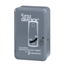 Intermatic WH40 Electric Water Heater Timer Gray