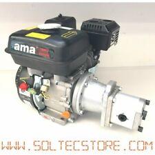 motore a scoppio 13hp con pompa idraulica per spaccalegna, kit idraulico, sega