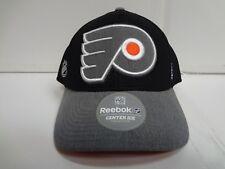 Philadelphia Flyers Reebok Cap Playoffs Center Ice Stretch Flex Fit Fitted Hat