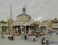 Dick Sturgeon Art Print of Cornhill,Bridgwater, Somerset, Signed Limited Edition