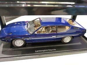 1/18 AUTOart 74502 LAMBORGHINI ESPADA Bleu blue Neuve / NEW