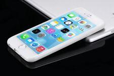 PARACHOQUES Tpu Trasera Rígida Transparente Transparente frontera Funda para Iphone 5 6 7 8 X se