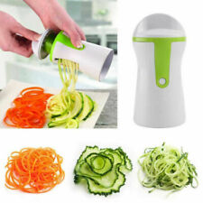 Palmare verdure SPIRALE SLICER CUTTER Chopper Spiralizer Shred Frutta Twister