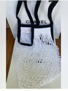 Brand New- Very Limited - Chanel No 5-Factory 5 Fishnet Summer Tote Bag- Rare