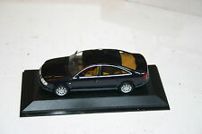 1/43 AUDI A6 SALOON 1997 BLACK WITH TAN INTERIOR MINICHAMPS NEW