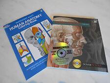HUMAN ANATOMY CD-ROM& BOOK by Alan Weller WITH BONUS ANATOMY BOOK NEW in Aust13