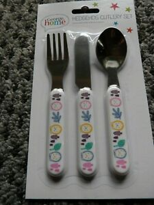Childrens Cutlery Set - Hedgehog, New and sealed.