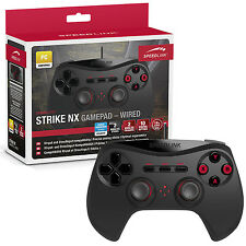 SPEEDLINK STRIKE NX WIRED GAMEPAD / GAME CONTROLLER FOR PC (SL-650000-BK)