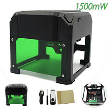 1500mW Mini USB Laser Engraver Printer Carver DIY Logo Engraving Cutting Machine