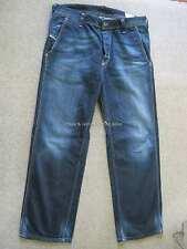Diesel Pheyo Herren dunkelblau Jeans 36W 30L (33W auf ETIKETT) WASH 008ST